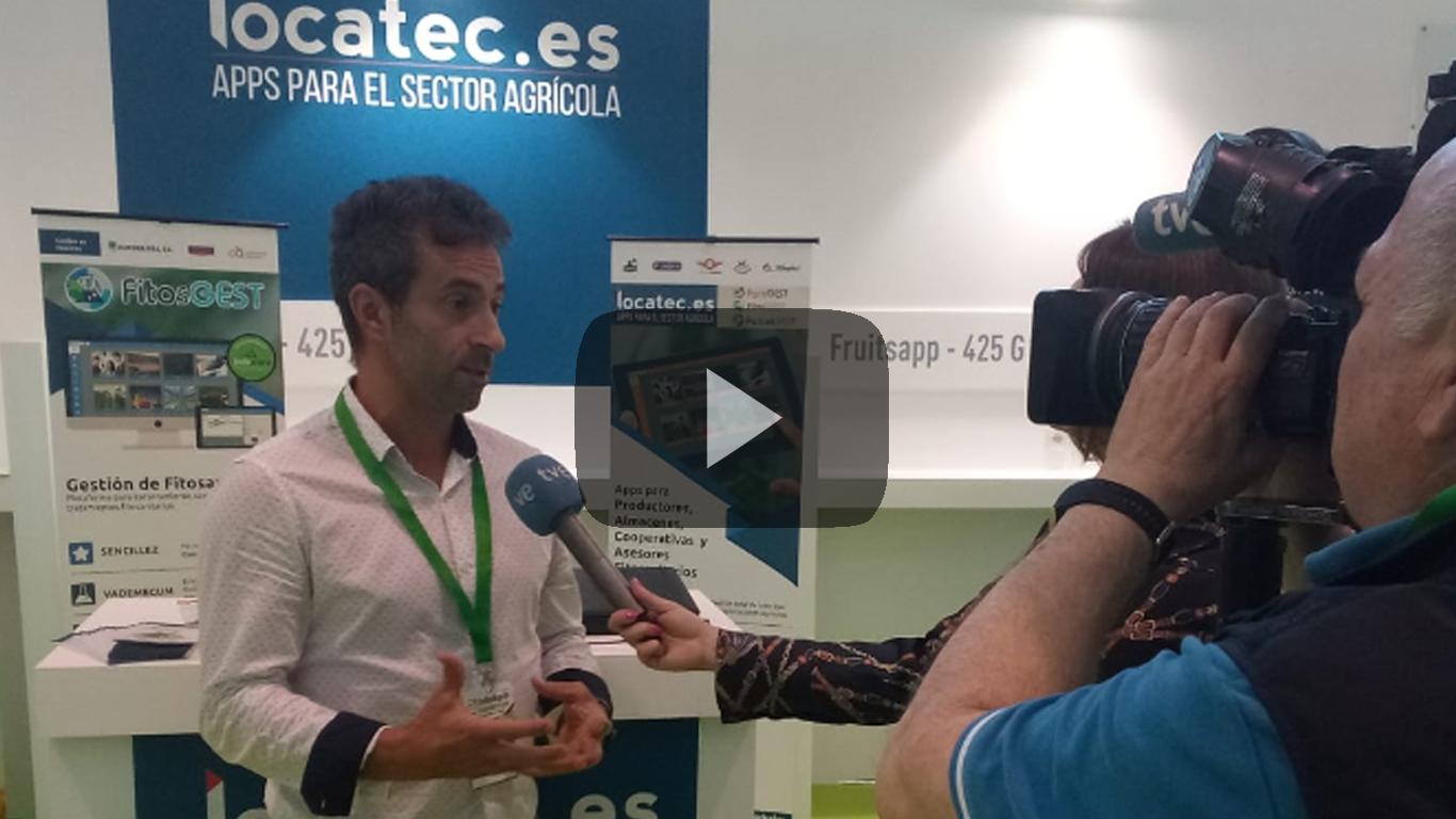Entrevista de RTVE a Locatec en InfoAgro 2019